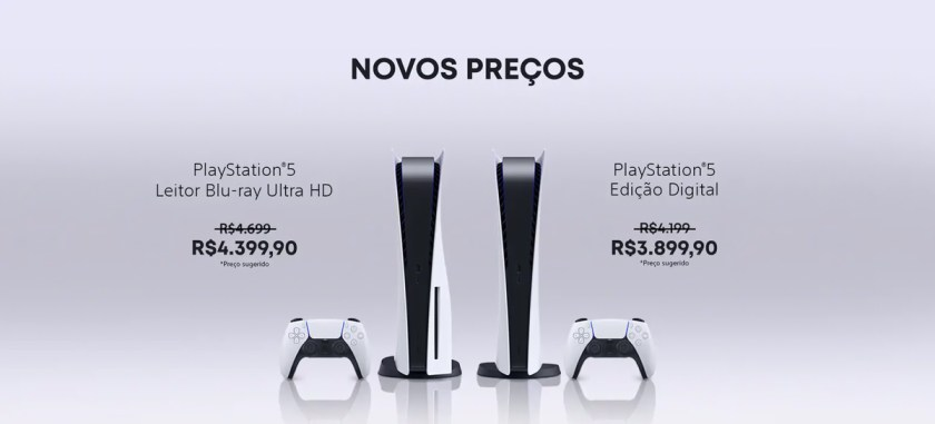 Sony cuts PlayStation 5 and accessories prices in Brazil
