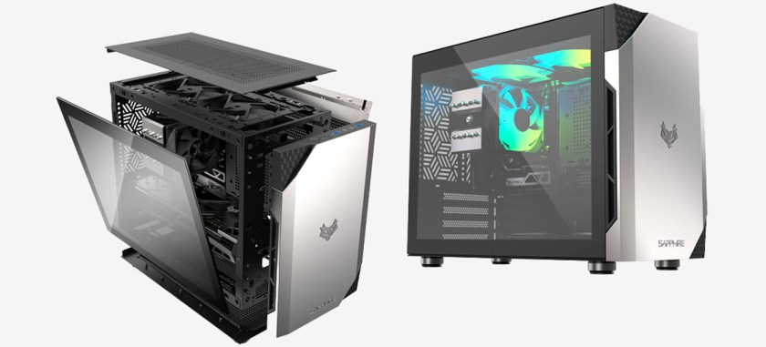 Sapphire launches compact and stylish case that accepts video cards up to 335mm