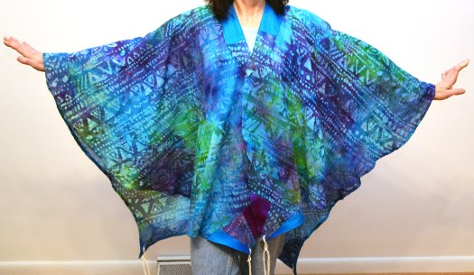 tie-dyed tallit front small