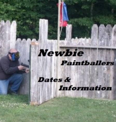 Newbie Baintballers 1