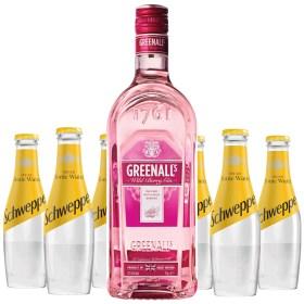 Adria-Klik Gin-Tonic Paket Original British Gin Greenalls Wild Berry 0,7l Indian Tonic Schweppes 0,2 l – Osvježavajuće bezalkoholno gazirano piće s okusom kinina. Sa sećerom i sladilom. Originalni, vrhunski okus koji zahtijeva karakter još od 1783.! Superbrza dostava Zagreb do 60min. Prednarudžbe – Zakazane narudžbe Dostava RH i EU