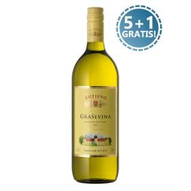 Platiš 5 a dobiješ 6 boca od 1l najpitkijeg bijelog vina u Hrvatskoj i šire