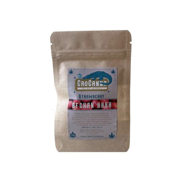 100% Organsko i Domaće! CBD smola sa dodatkom najfinijih trihoma dobivena ekstrakcijom iz probranih sorti industrijske konoplje s dodatkom jagode