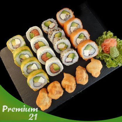 21 piezas de Sushi
