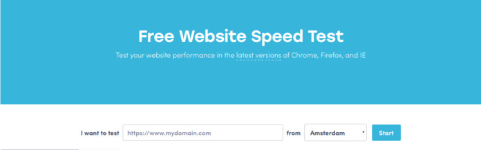 dotcom monitor website speed