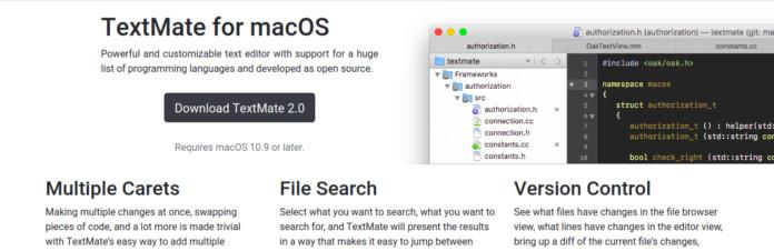 textmate mac