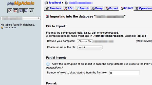 Migriranje WP Import baze