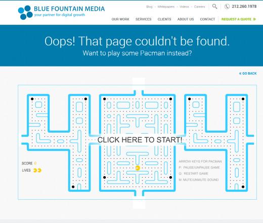 Блуе фоунтан 404 паге
