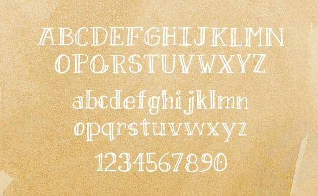 Sweet pineapple font free