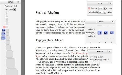 Typograph - Scale & Rhythm