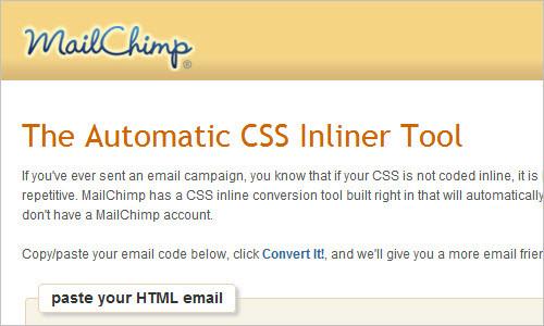 CSS Inliner Tool