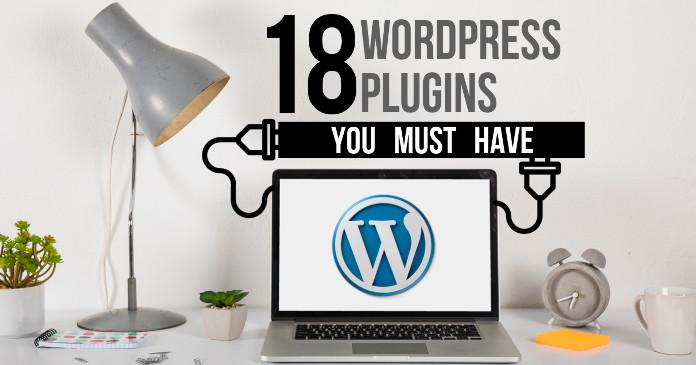 18 wordpress best plugins