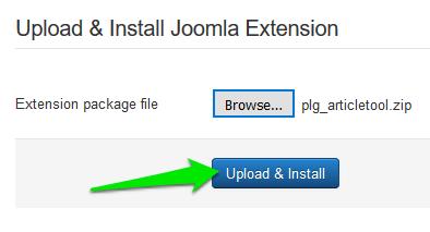 Joomla - extensions slika 5