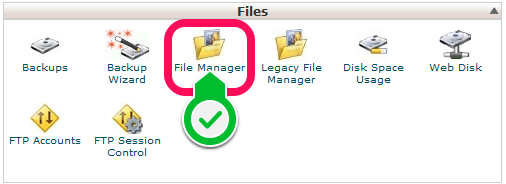 Joomla - file manager