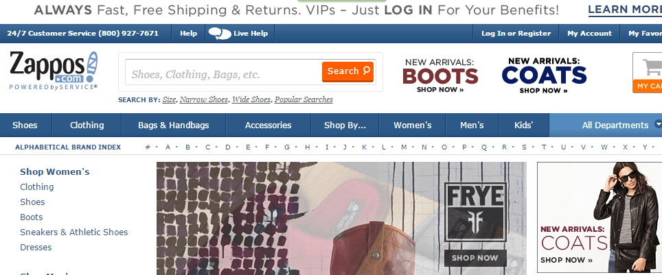 Online Shoes, Clothing, Free Shipping and Returns Zappos.com