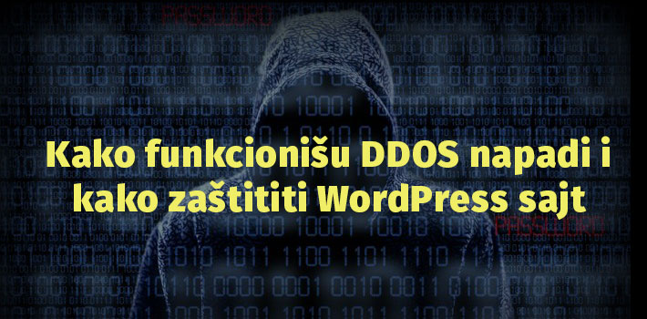 ddos napad wordpress