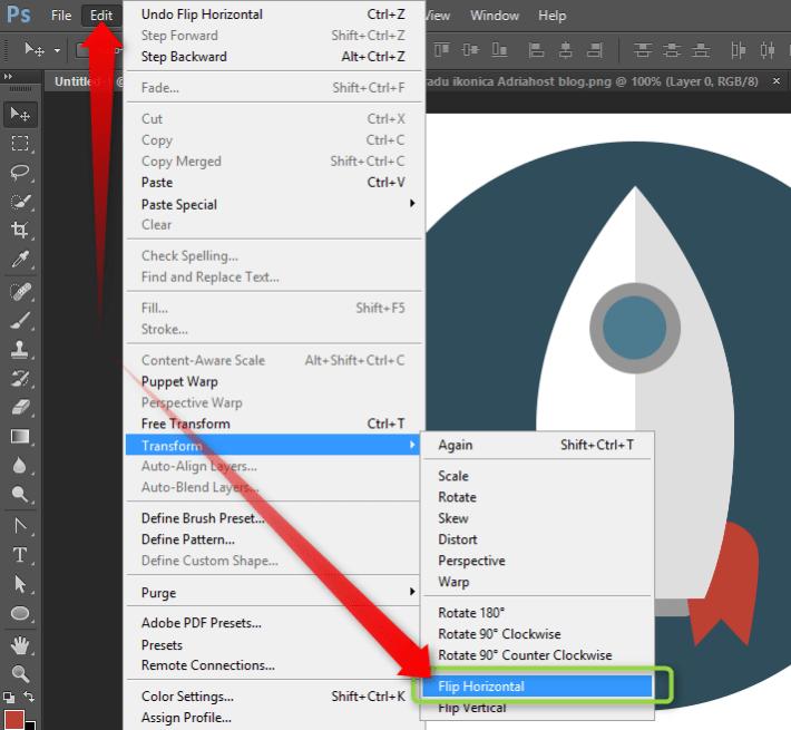 Izrada Flat ikonica u Photoshopu slika 25