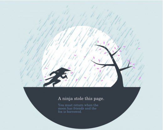 Creative and Interesting 404 Pages - Huwshimi
