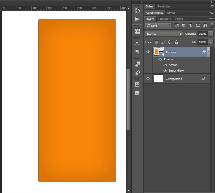 Kako napraviti cenovnik u Photoshop slika 7