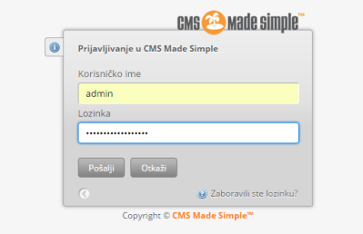 cms site made simple