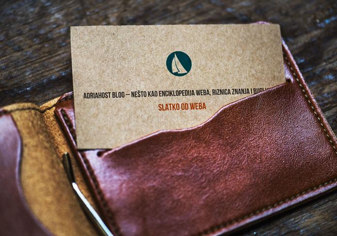 mockup vizit karta novčanik