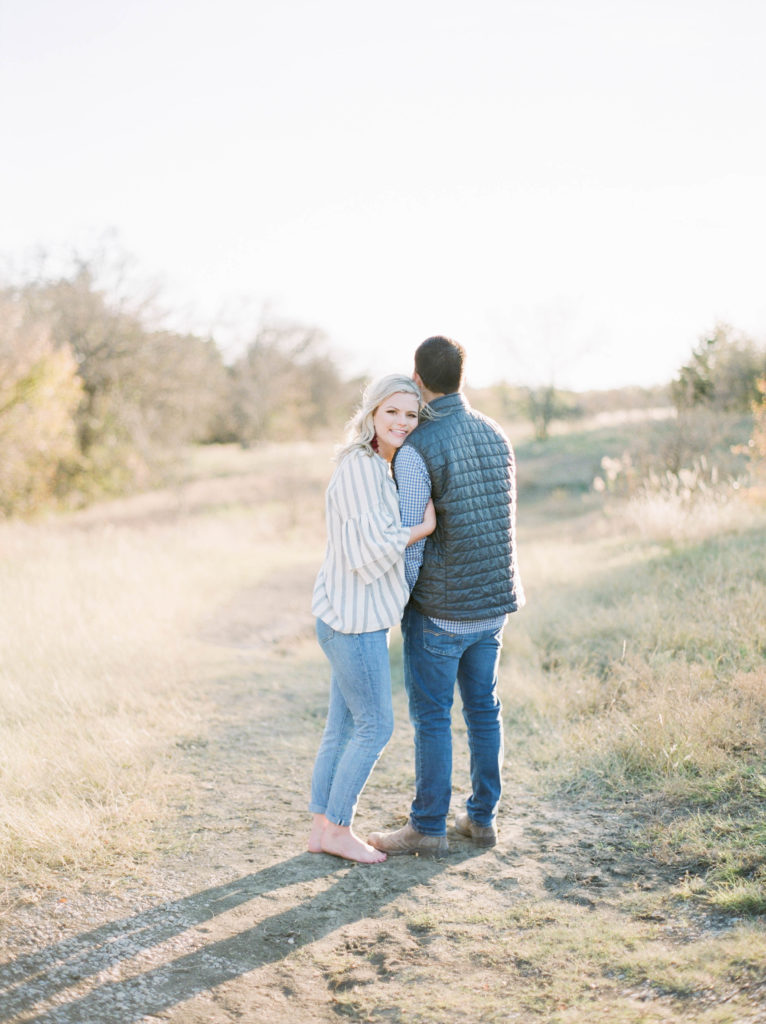 Engagement Photos on Film by Adria Lea Photography Dallas Photographer