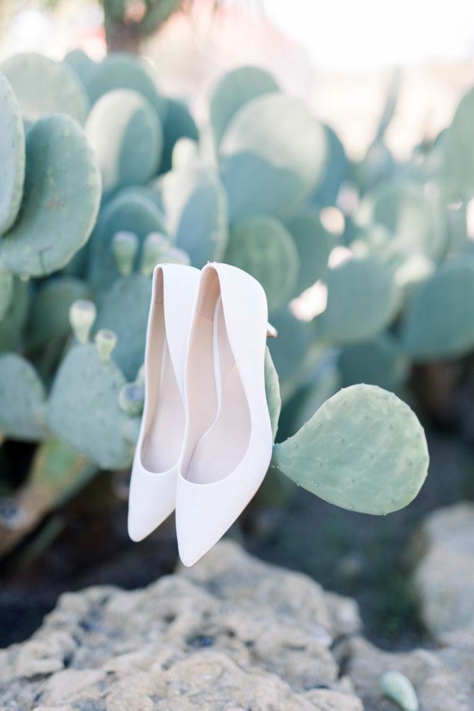 Wedding Shoes | Wedding Photos on Film by Adria Lea Photography Dallas Wedding Photographer