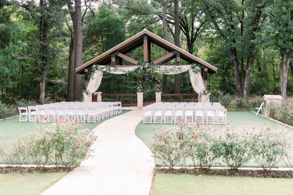 Outdoor wedding venue in Dallas metro, The Springs Poetry Hall, photographed by Dallas wedding photographer, Adria Lea Photography