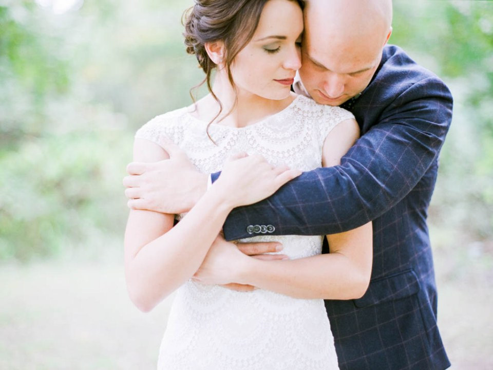 Shelby and Austin's wedding at The Springs Poetry Hall wedding venue by Adria Lea Photography, sweet bride and groom photo!