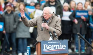 Presidential Candidate Bernie Sanders Holds Campaign Rally In Boston