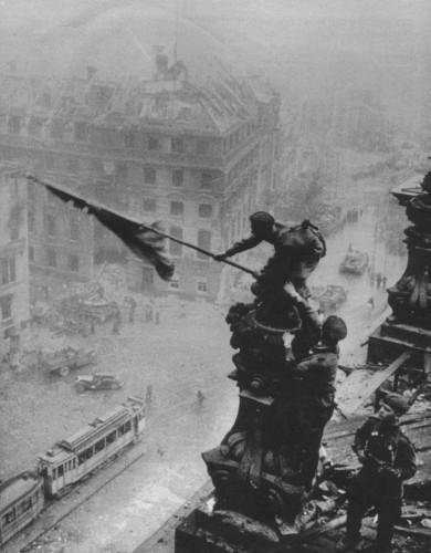Soldat russe Reichstag
