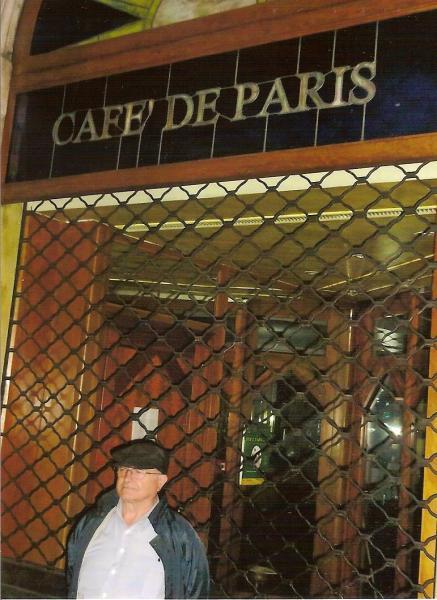 """Mario, fostul """"cameriere"""" în fața obloanelor trase la """"Café de Paris"""""""