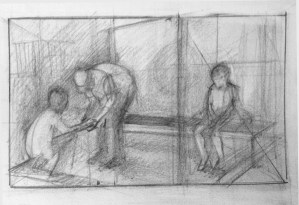 Adriana Burgos, value thumbnails for physiotherapy session # 2