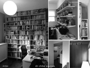 Fotos do Escritório e Rouparia - ANTES
