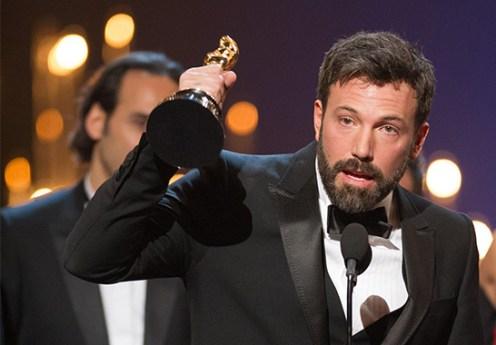 Emocionado al recibir el Premio como Mejor Película