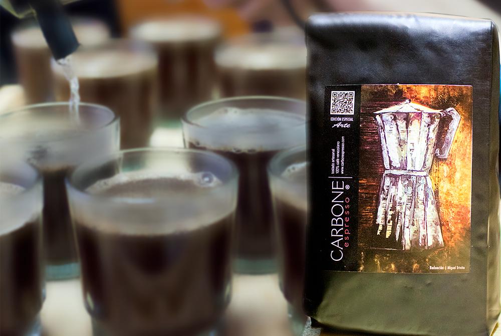 Uno o dos cafés con Pietro Carbone