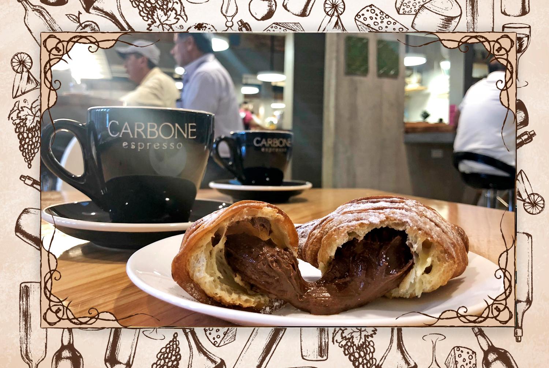 Fortalezas: La crocante cola de Langosta de Nutella  Sugerencias: Un valor es que se disfruta el café Carbone, pero su preparación se puede mejorar, específicamente la leche en el marrón y capuccino.