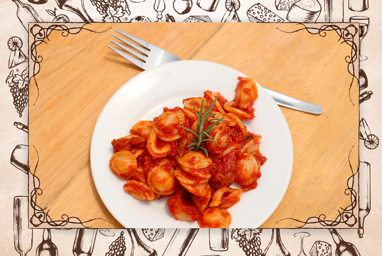 """Otro plato para seguir """"pecando"""": """"Orecchiette al ragu di salsiccia siciliana, plato con el sabor de la nonna"""".(FOTO: @gastrobrand)"""