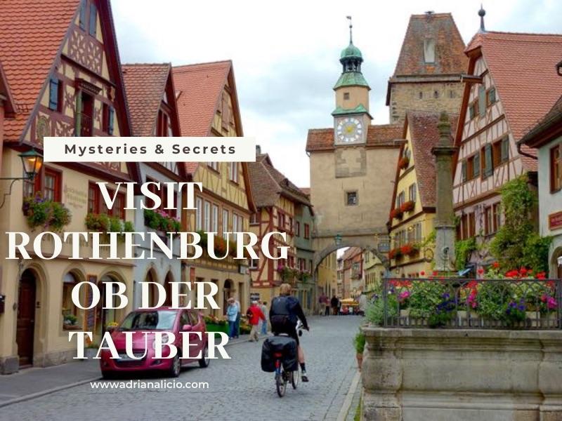 VISIT Rothenburg ob der Tauber Cozy Mystery Adriana Licio