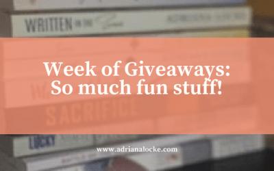 Week of Giveaways: So Much Fun Stuff!