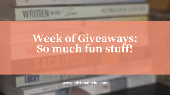 Week of Giveaways: So Much Fun Stuff!