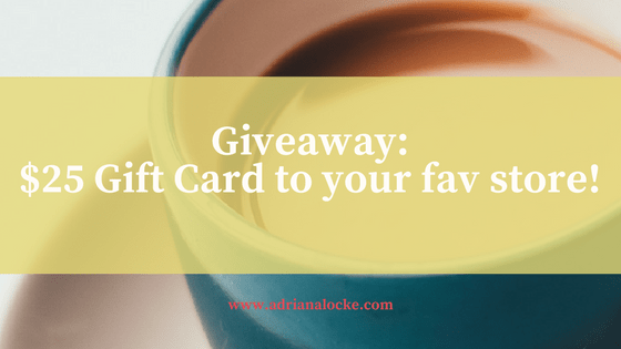 Giveaway: $25 to your fav store