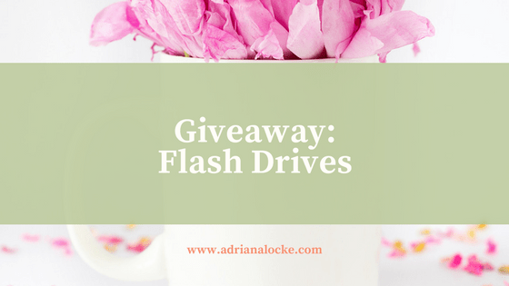 Giveaway: Flash Drives