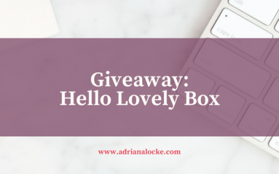 Giveaway: Hello Lovely Box
