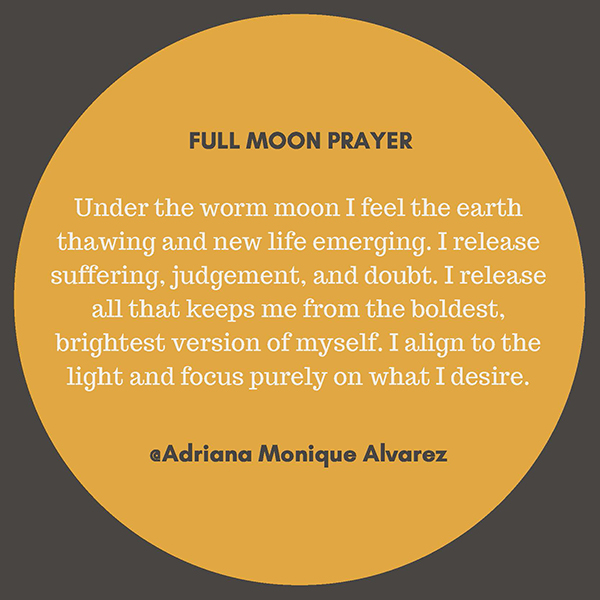 March 21st, 2019 Full Moon Prayer & Ceremony 1