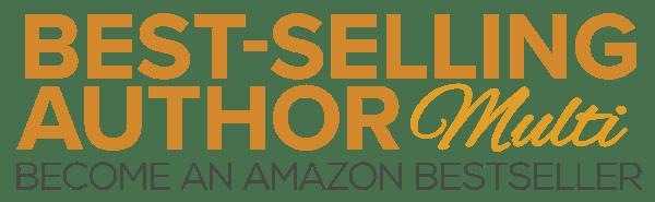 Amazon Best-Selling Author Logo - MULTI BUY BUTTON WEB