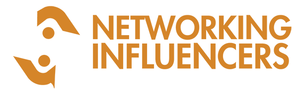Networking Influencers Logo - WHITE WEB