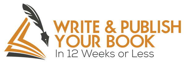 Write & Publish Your Book in 12 Weeks or Less Logo - WEB
