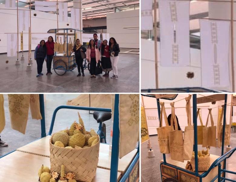 El proyecto colaborativo Totlapaltlalnatzin en la «Segunda Bienal Universitaria de Artes y Diseño de la UNAM: Pedir lo imposible».