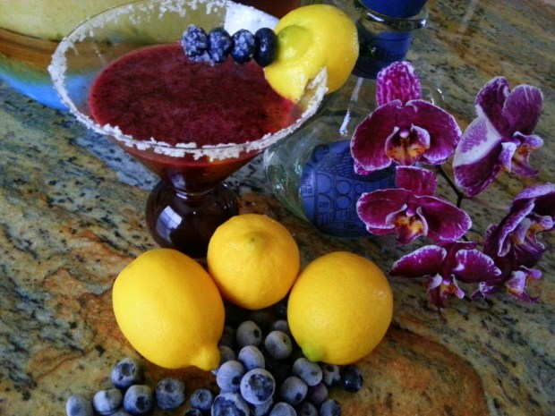 Blueberry Margarita #ABRecipes